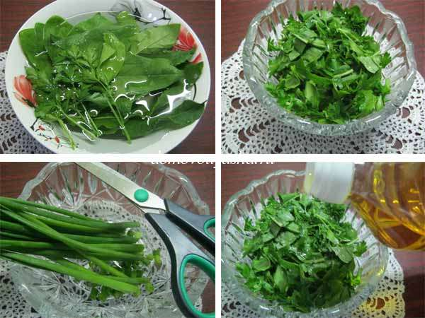 Салат со щавелем рецепт с фото