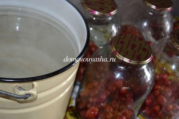 Компот из клубники рецепт на зиму