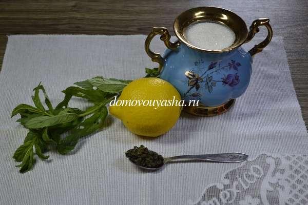 Рецепт лимонада из лимона и мяты