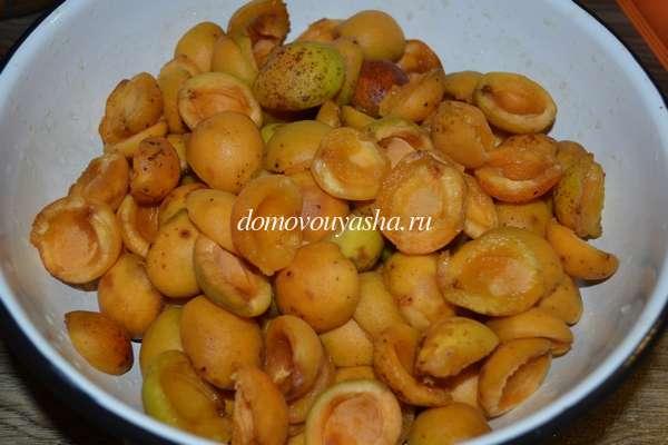 Приготовление абрикосового джема в домашних условиях