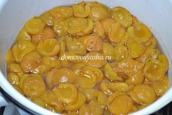 Как варить абрикосовый джем на зиму