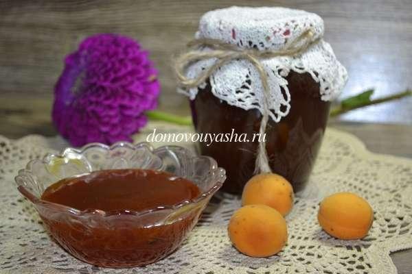 Как приготовить абрикосовый джем в домашних условиях 969