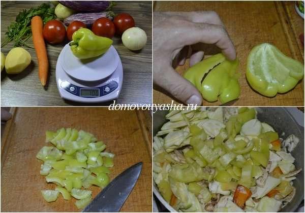 Как приготовить овощное рагу из кабачков и баклажанов