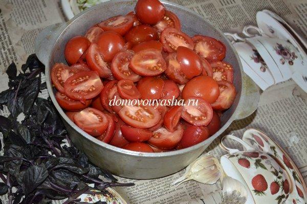 Томатный соус с базиликом на зиму рецепт