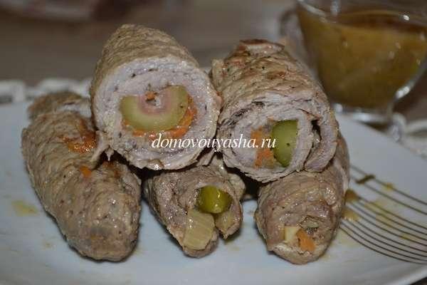Пальчики мясные с начинкой рецепт с пошагово
