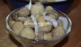 Грибы шампиньоны маринованные рецепт
