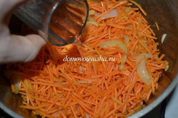 Корень сельдерея тушеный с овощами