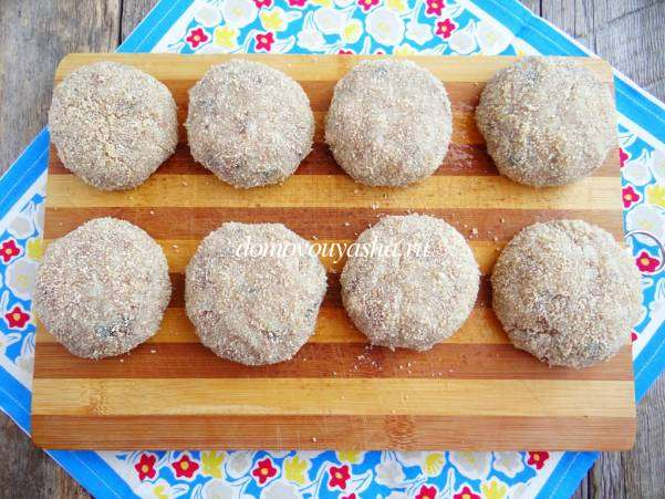 Котлеты из скумбрии свежемороженой рецепт с фото