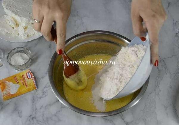 большая ленивая ватрушка с творогом рецепт