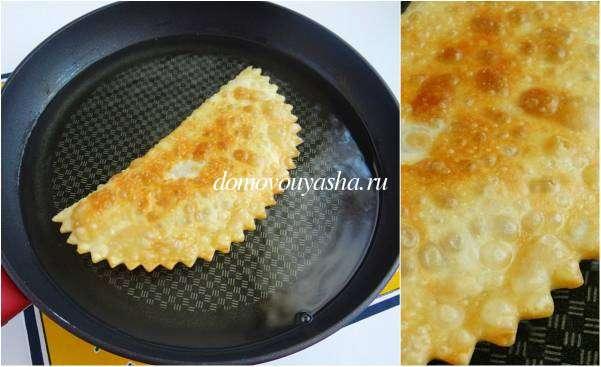 Чебуреки рецепт с фото пошагово классический