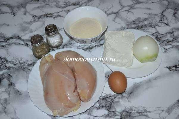 котлеты из рубленной куриной грудки рецепт с фото