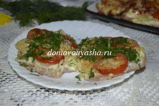 Мясо по-французски в духовке из свинины