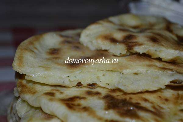 Хачапури с картошкой