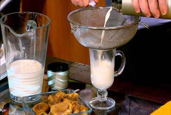 Инжир с молоком от кашля рецепты приготовления