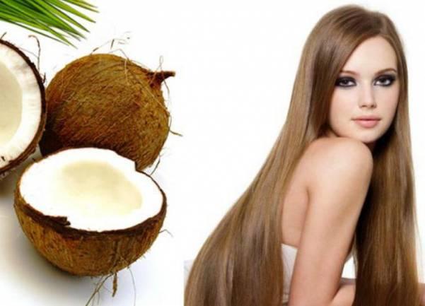 Применение масла для ухода за волосами