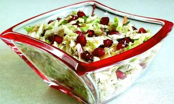 Гранатово-овощная закуска