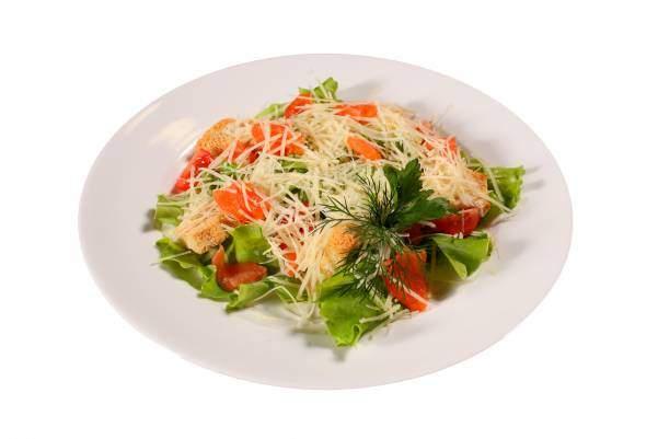 Салат Цезарь вкусные рецепты