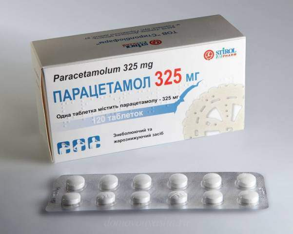 Парацетамол при болях в спине
