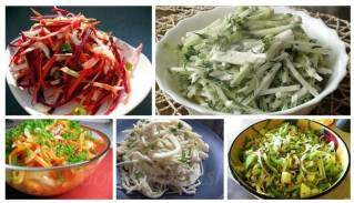 Рецепты салатов для очищения кишечника