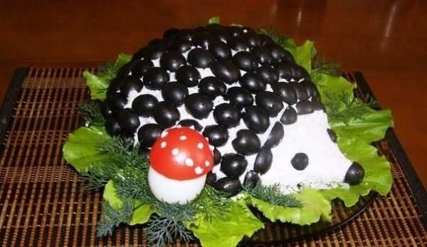 Рецепт Ежика с курицей