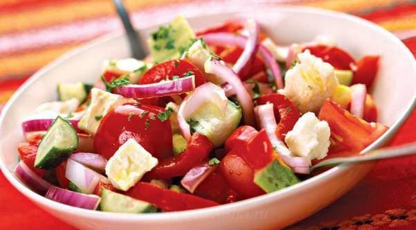 Рецепт салат по-шопски