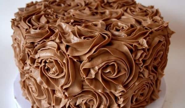 Шоколадный крем пломбир для торта