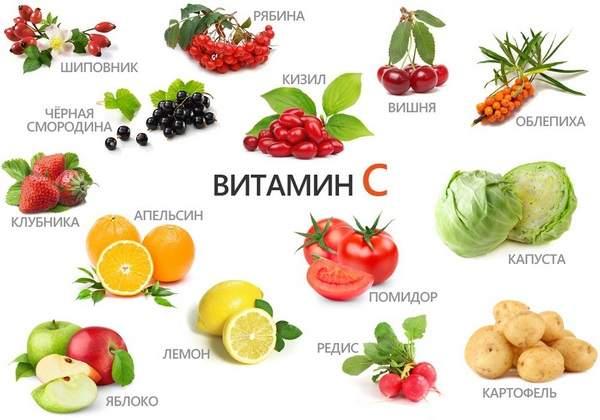 Суточная норма витамина С