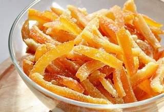 Рецепт цукатов из апельсиновых корок в домашних условиях