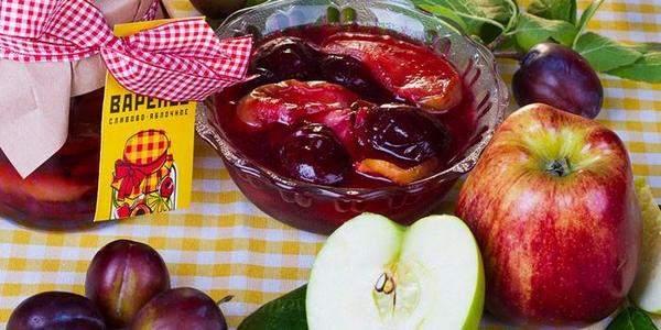 Классическое яблочно-сливовое варенье