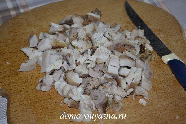Курица с ананасами салат рецепт классический пошаговый
