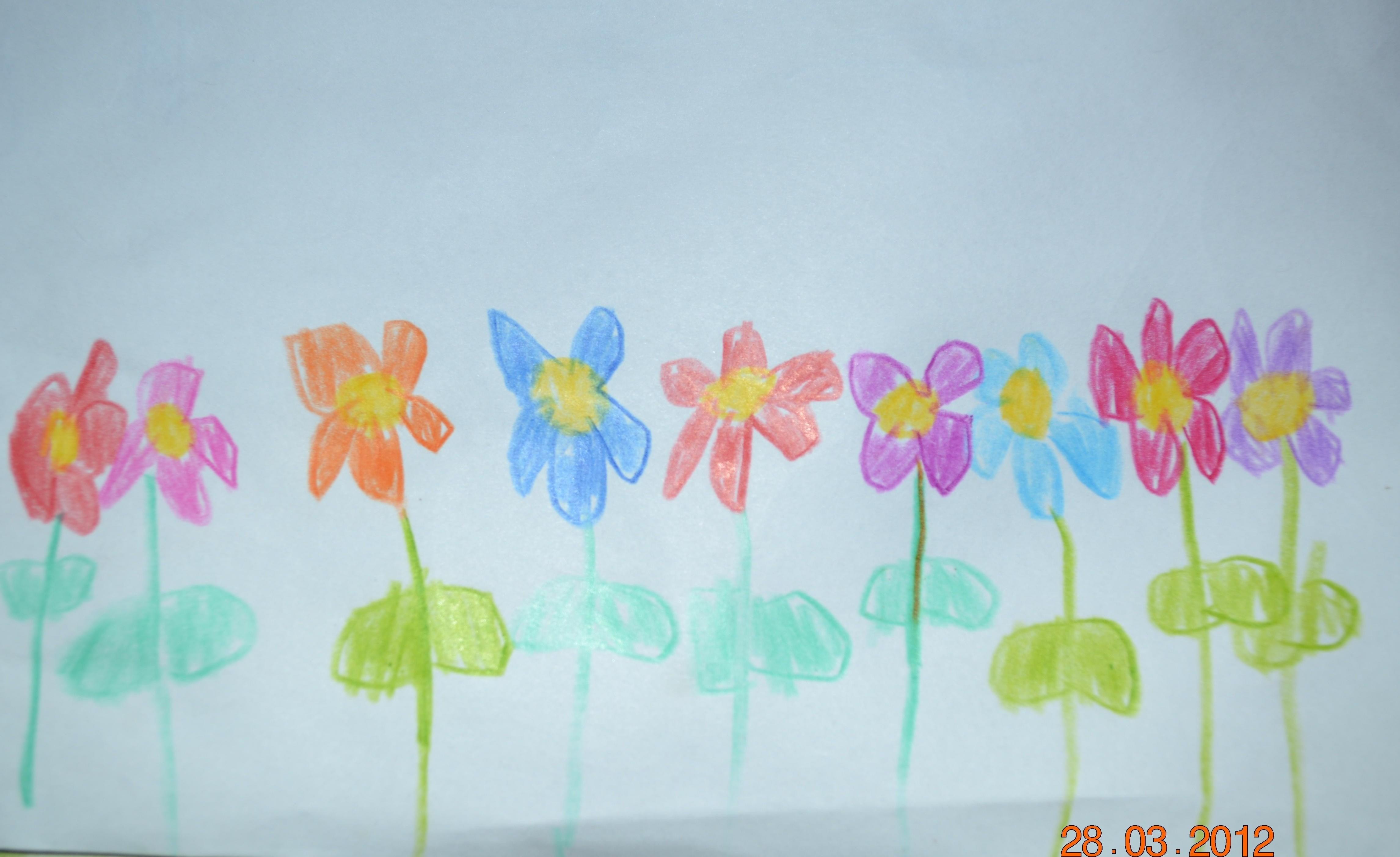 Человек рисует цветы что значит