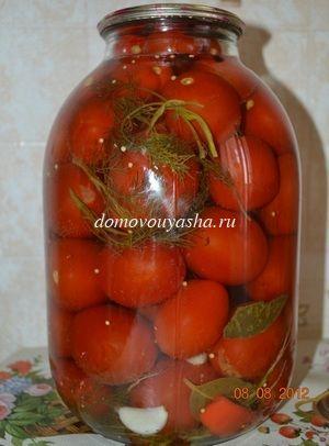 Вкусные консервированные помидоры