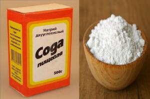 Сода пищевая лечение