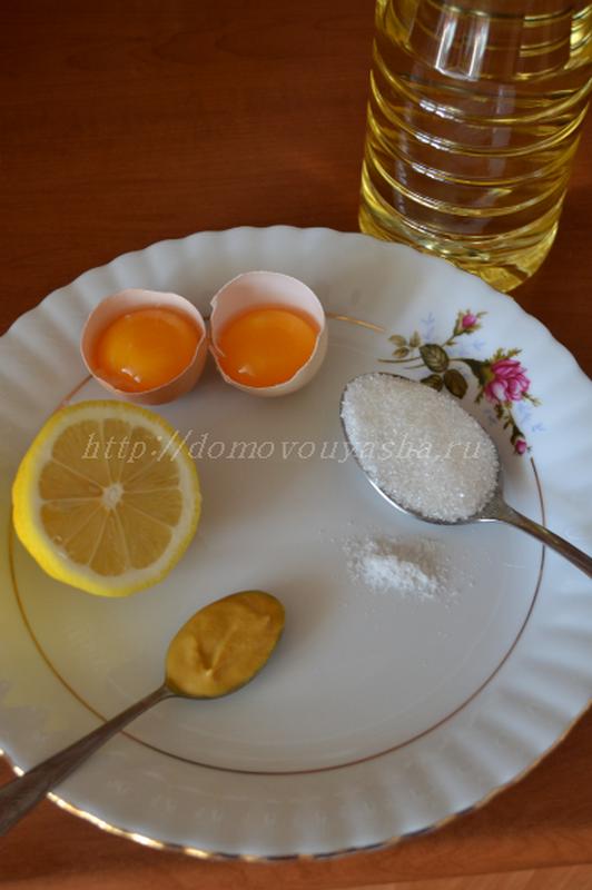 Рецепт приготовления домашнего майонеза с фото