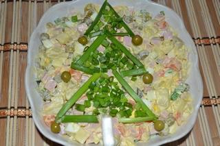 Салат оливье рецепт с фото.
