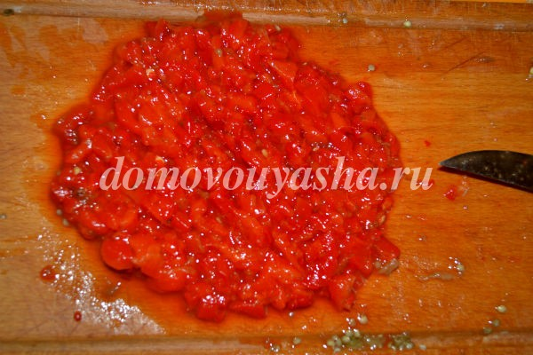 баклажанная икра рецепт приготовления