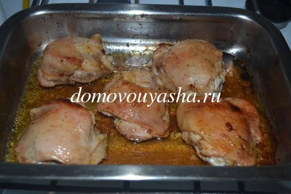 курица в апельсиновом соке рецепт