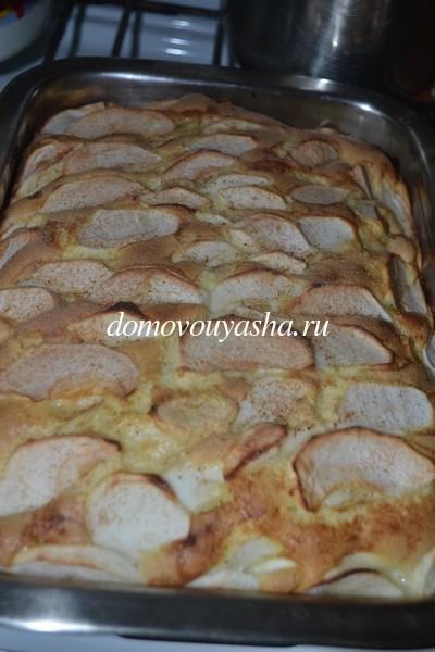 Самый простой рецепт яблочного пирога