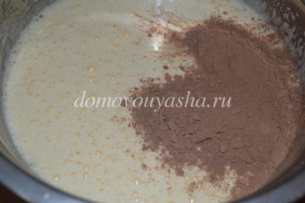 Шоколадный манник в мультиварке, пошаговый рецепт с фото