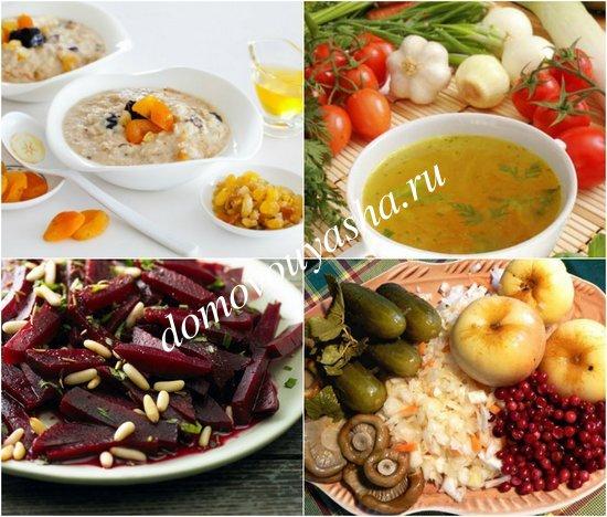 Что кушать во время Великого поста