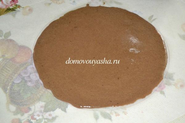 торт молочная девочка шоколадный