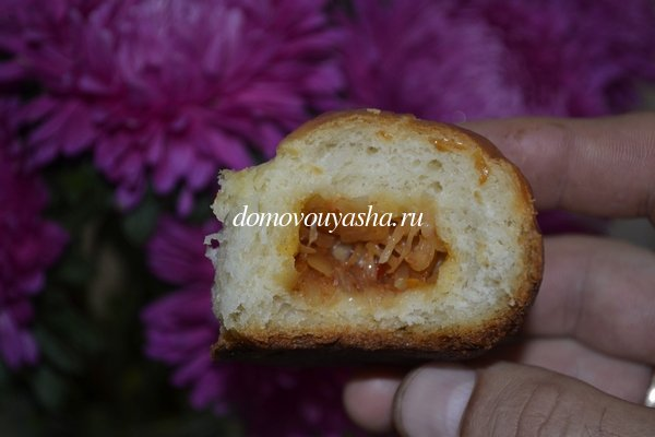 пирожки с яблоками в духовке рецепт