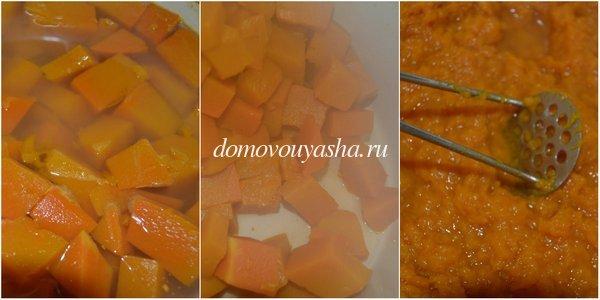 каша из тыквы с рисом рецепт с фото
