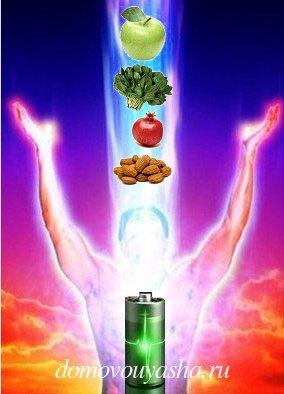 продукты заряжающие энергией