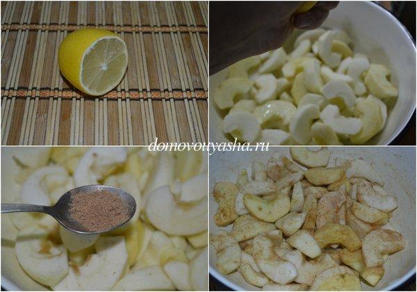 Нежная творожная шарлотка с яблоками, пошаговый рецепт с фото