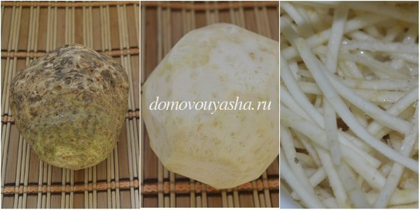 сельдерей по корейски рецепт с фото