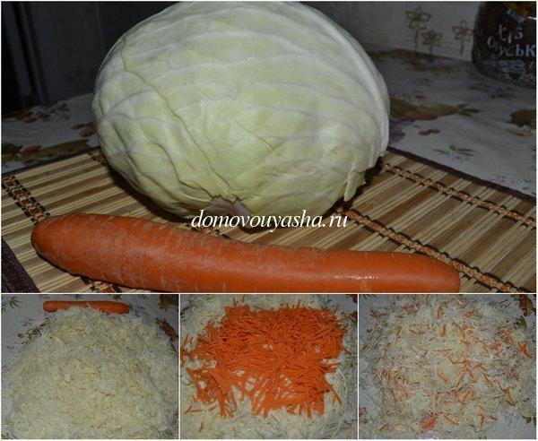 как квасить капусту в банке рецепт с фото