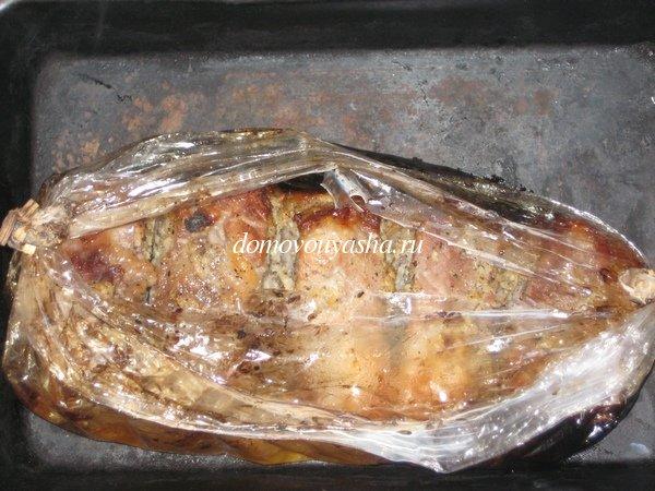 подчеревка в духовке в рукаве рецепт с фото