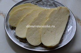 рецепт домашнего сыра из молока сметаны и яиц