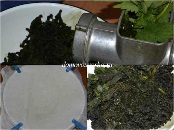 Как приготовить сок из крапивы